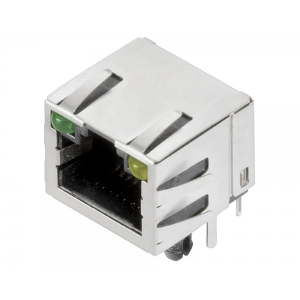 Weidmüller RJ45C5 T1U 2.8E4G/Y TY - 2562880000
